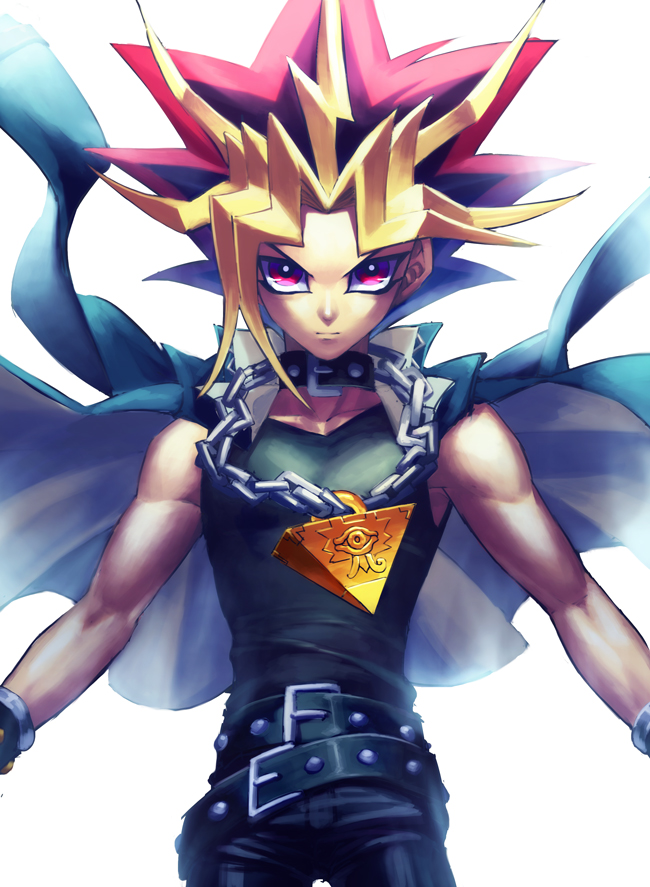 Tags: Anime, Rokuro, Yu-Gi-Oh! Duel Monsters, Yu-Gi-Oh!, Yami Yugi, Pixiv, Fanart From Pixiv, Fanart