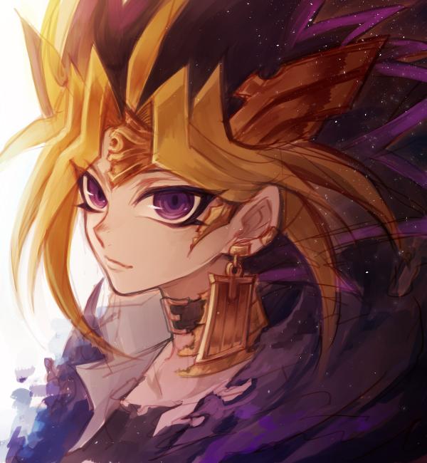 Tags: Anime, Pixiv Id 403610, Yu-Gi-Oh!, Yu-Gi-Oh! Duel Monsters, Pharaoh Atem, Yami Yugi, Ankh (Object), PNG Conversion, Fanart, Pixiv, Fanart From Pixiv