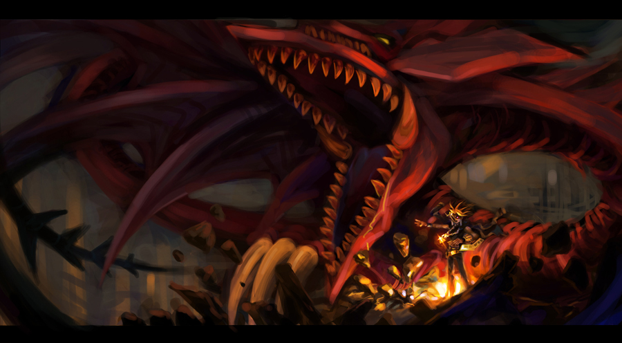 Slifer The Sky Dragon Yu Gi Oh Duel Monsters Zerochan