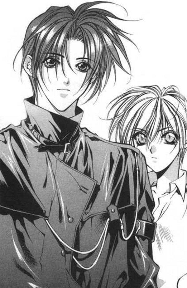 Tags: Anime, Yami no Matsuei, Kurosaki Hisoka, Tsuzuki Asato, Descendants Of Darkness