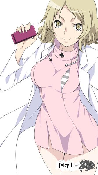 Tags: Anime, Mizuki Makoto, Shin Megami Tensei: Devil Survivor 2, Yanagiya Otome, Mobile Wallpaper