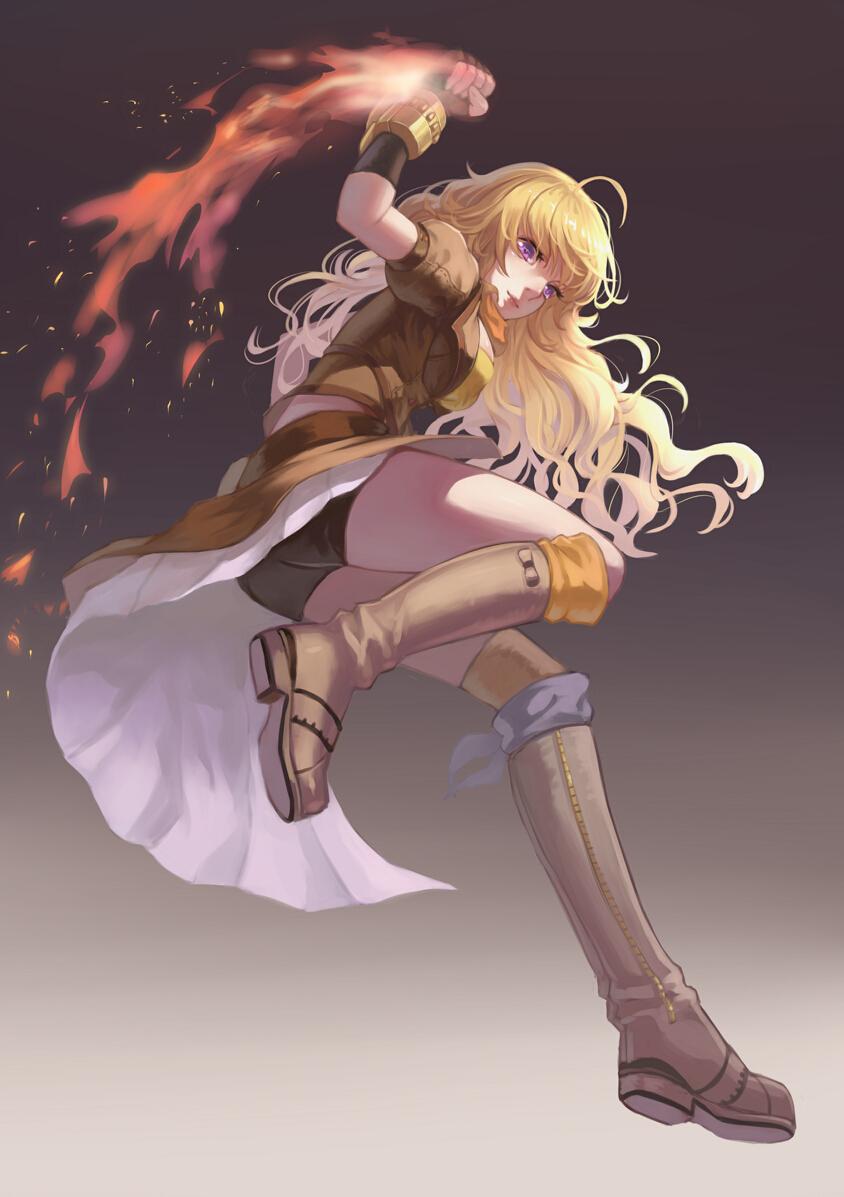 Yang Xiao Long Fanart Zerochan Anime Image Board