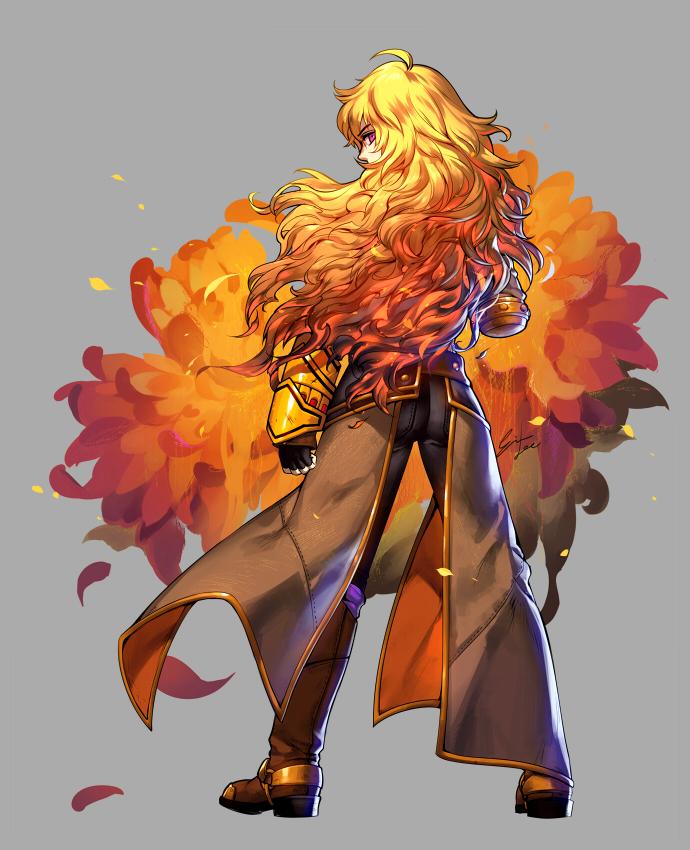 Yang Xiao Long Rwby Zerochan Anime Image Board