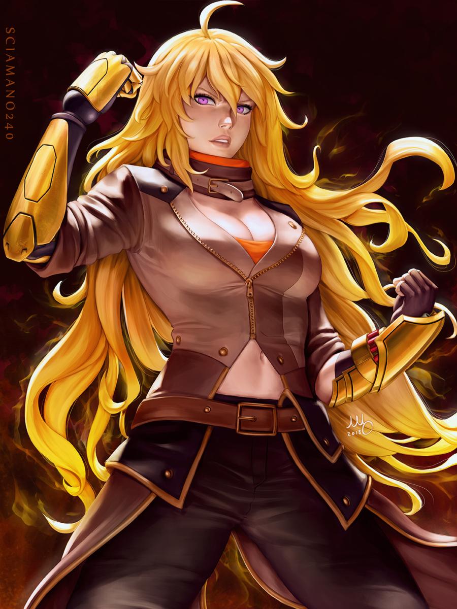 Yang Xiao Long Rwby Wallpaper 2409227 Zerochan Anime Image