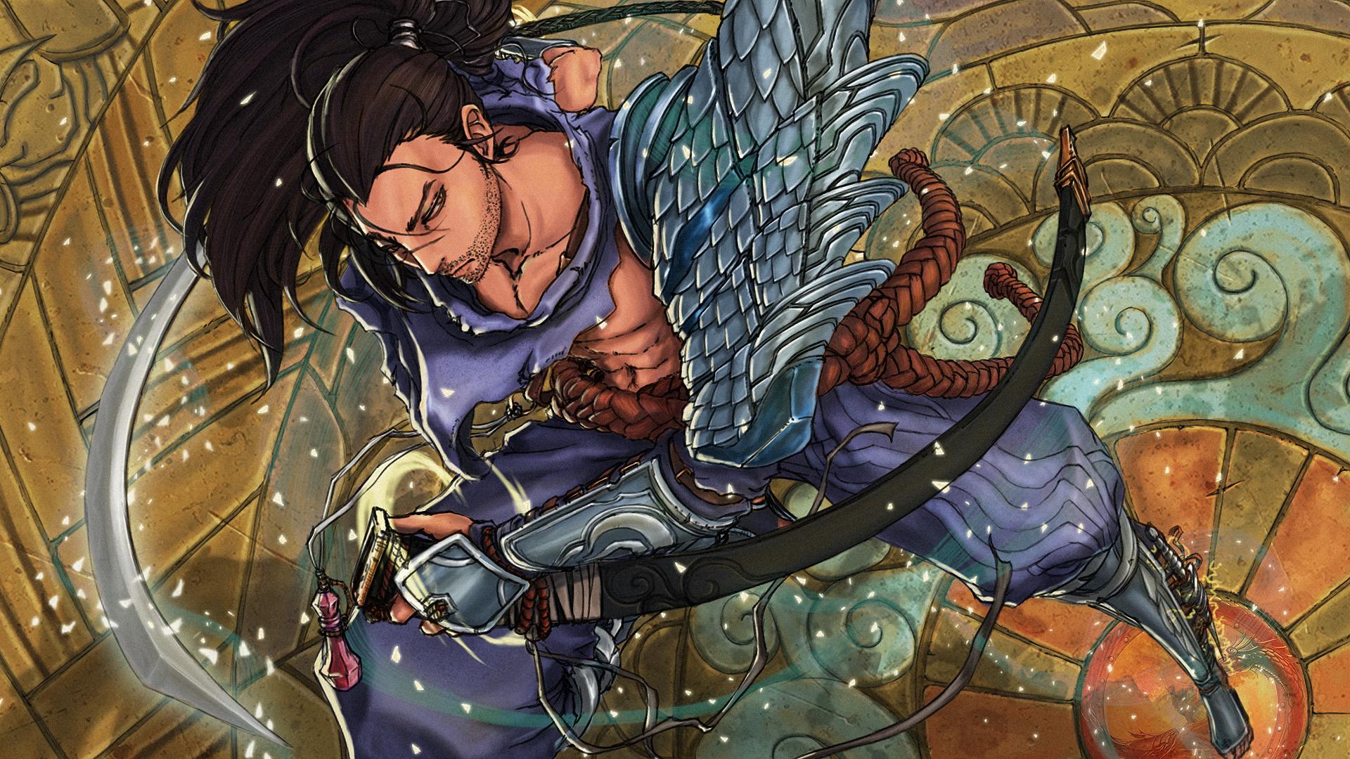 Yasuo League Of Legends Hd Wallpaper 1642262 Zerochan Anime