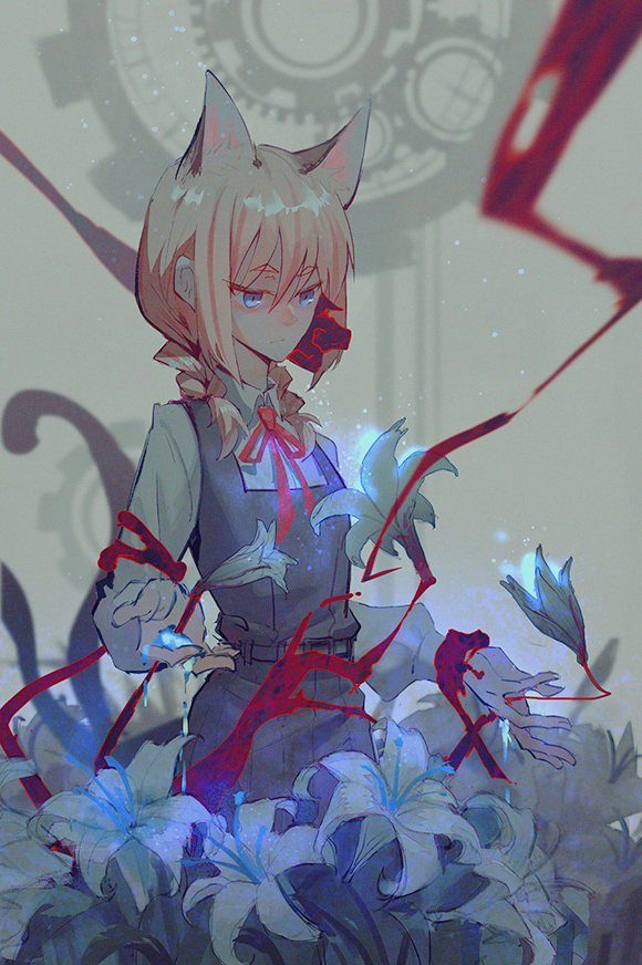 Tags: Anime, DIE (Pixiv 2783308), Flip Flappers, Yayaka (Flip Flappers), Bioluminescence, Fanart, Fanart From Pixiv, Pixiv