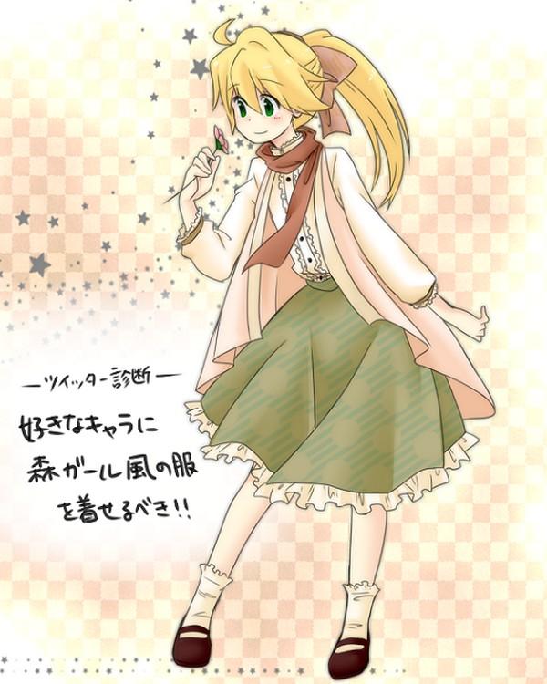 Green Eyes Blonde Hair Female Solo Page 32 Zerochan Anime