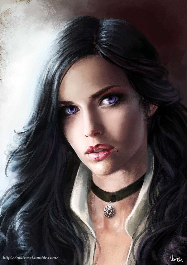 Yennefer Of Vengerberg The Witcher Zerochan Anime Image Board