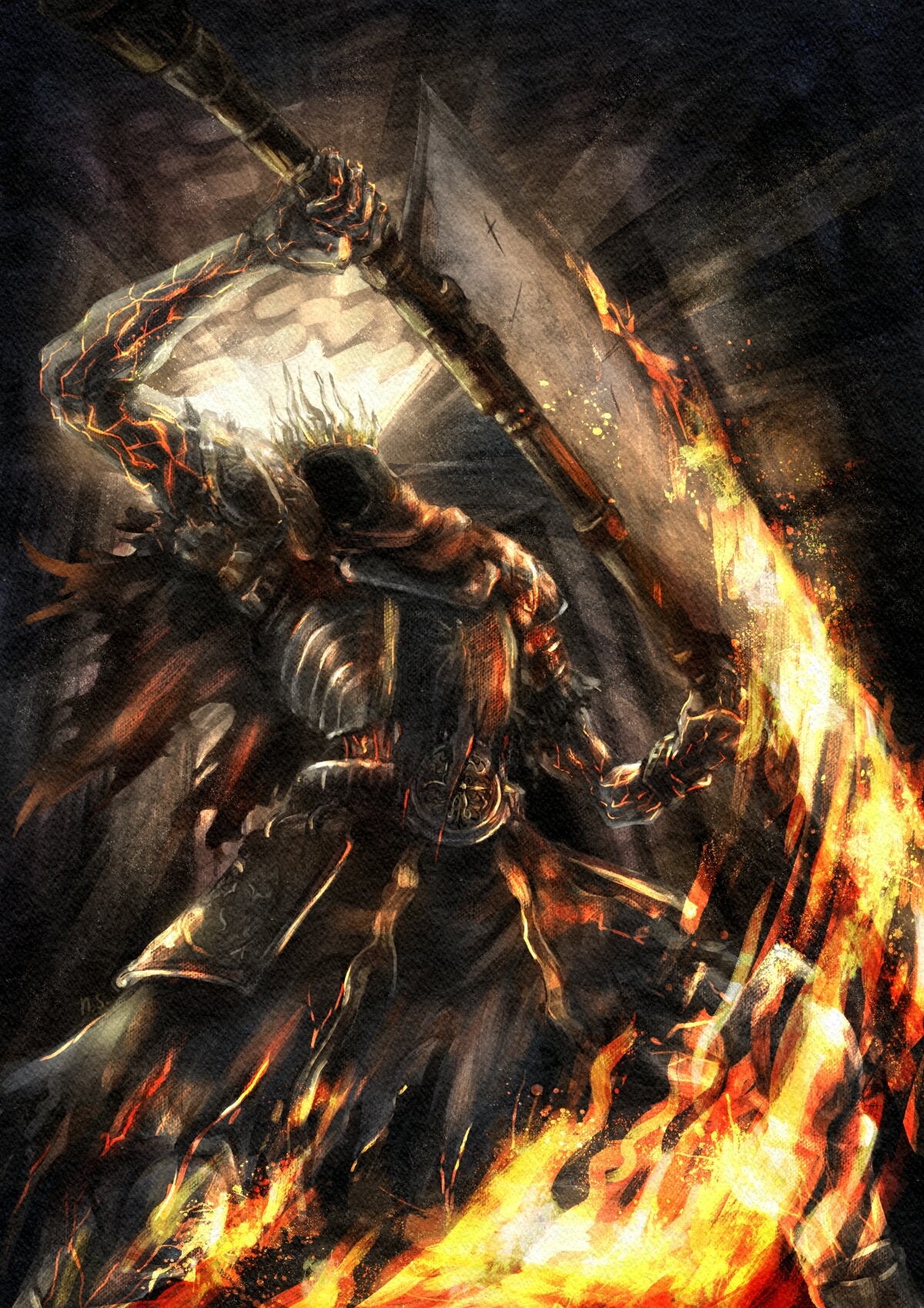 dark souls 3 how to use spear class