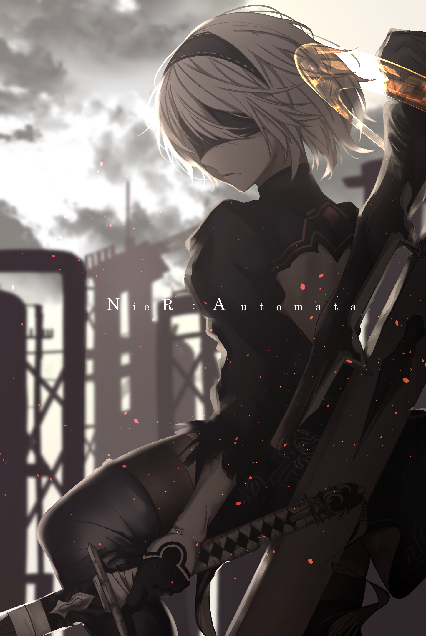 Nier Automata Mobile Wallpaper Zerochan Anime Image Board