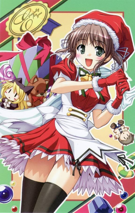 Tags: Anime, Yoake Mae yori Ruriiro na, Tatsuya Asagiri, Asagiri Mai, Wreathlit Noel, Official Art, A Brighter Blue Than That Before The Dawn