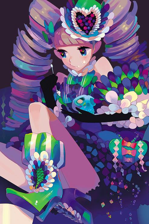 Tags: Anime, Yokarura, Detailed, Pixiv, Original