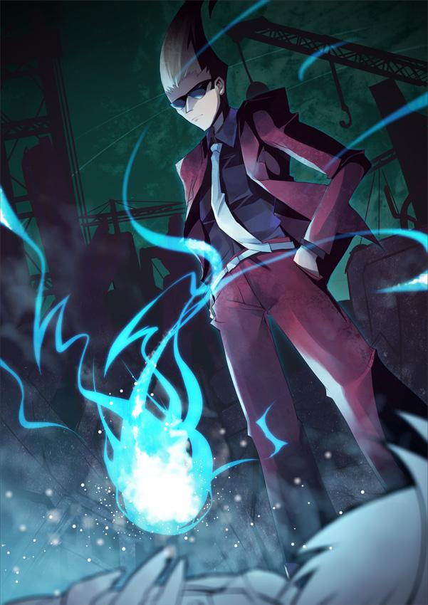 Tags: Anime, Hinot3, Ghost Trick: Phantom Detective, Yomiel, Junkyard, Fanart, Fanart From Pixiv, Pixiv