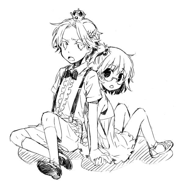 Tags: Anime, Negura, Yondemasuyo Azazel-san, Sakuma Rinko, Beelzebub (Yondemasuyo Azazel-san), Fanart, Pixiv