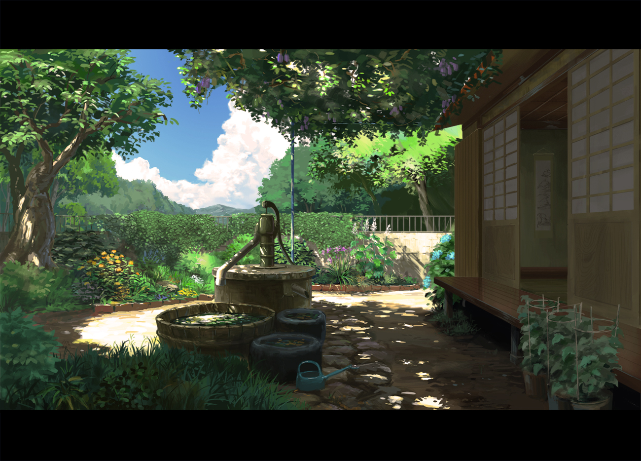 Shouji Japanese Door Zerochan Anime Image Board