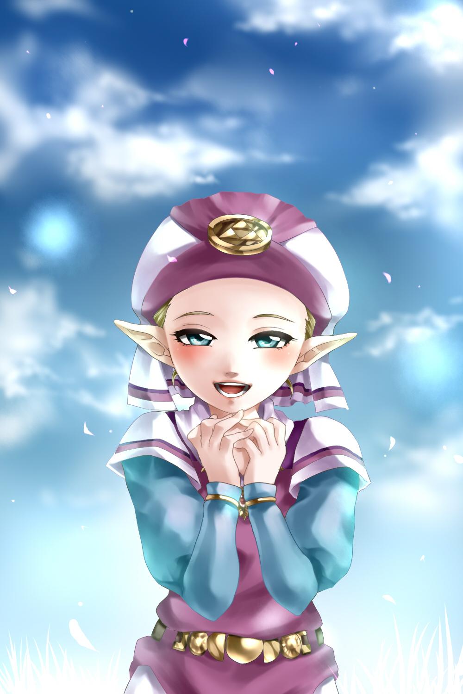 Young Zelda Zelda No Densetsu Toki No Ocarina Mobile