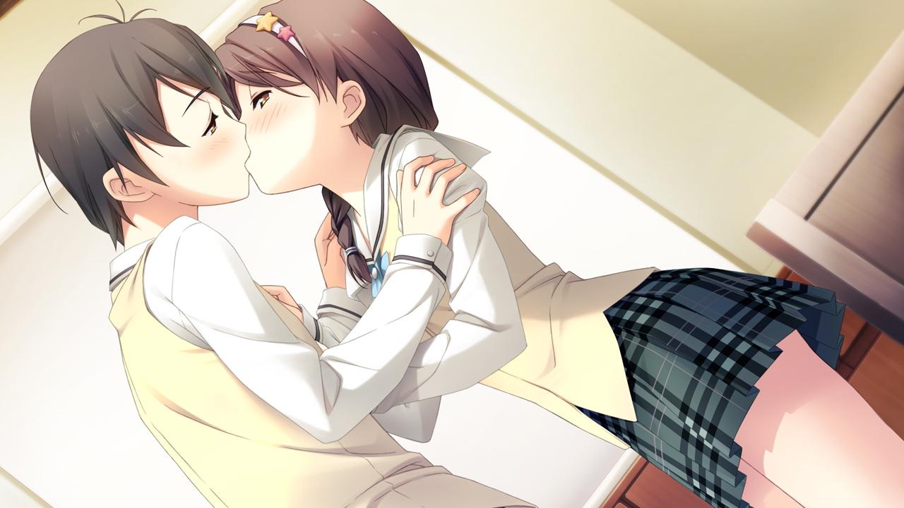 Sexual romantic anime