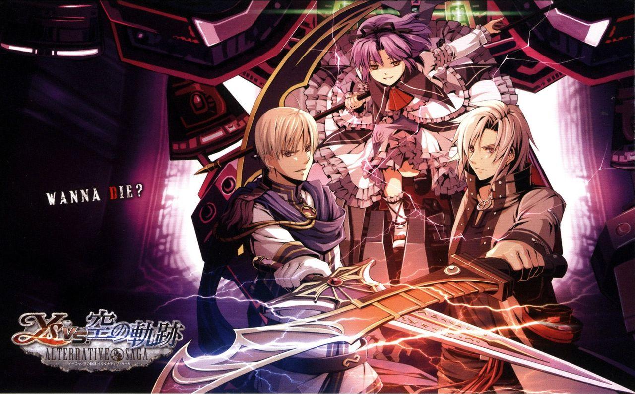 Tags Anime Ys Jue Falcom The Ark Of Napishtim Picture