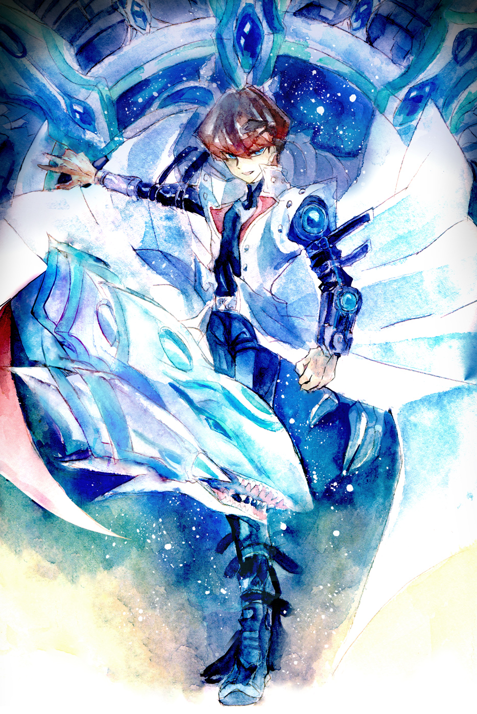Blue-Eyes Alternative White Dragon - Yu-Gi-Oh! The Dark ...