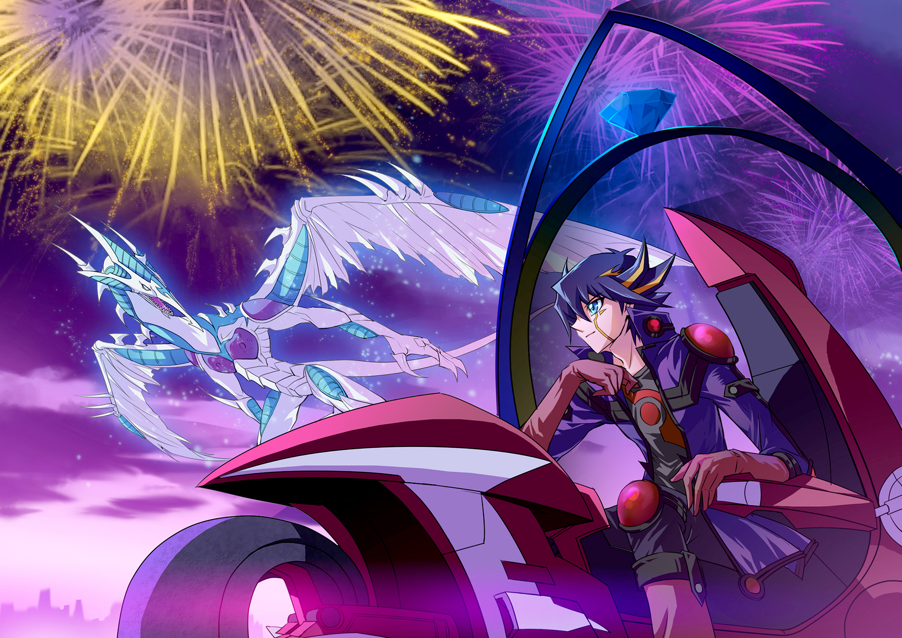 Yugioh 5ds Stardust Dragon Yu-Gi-Oh! 5D's Image #...