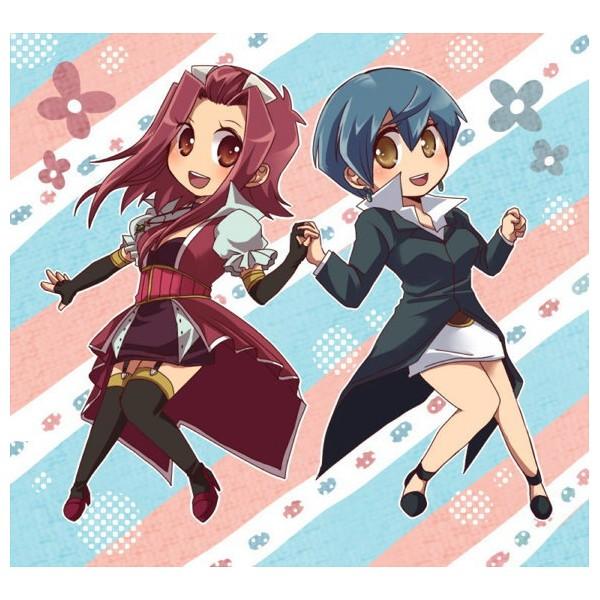 Tags: Anime, Yu-Gi-Oh! 5D's, Yu-Gi-Oh!, Mikage Sagiri, Izayoi Aki, Pixiv