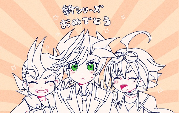 Tags: Anime, Nns146, Yu-Gi-Oh! VRAINS, Yu-Gi-Oh!, Yu-Gi-Oh! ARC-V, Yu-Gi-Oh! ZEXAL, Sakaki Yuya