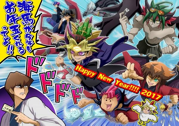 Tags: Anime, Kaminari Jin, Yu-Gi-Oh! VRAINS, Yu-Gi-Oh! ARC-V, Yu-Gi-Oh! Duel Monsters, Yu-Gi-Oh! 5D's, Yu-Gi-Oh! ZEXAL