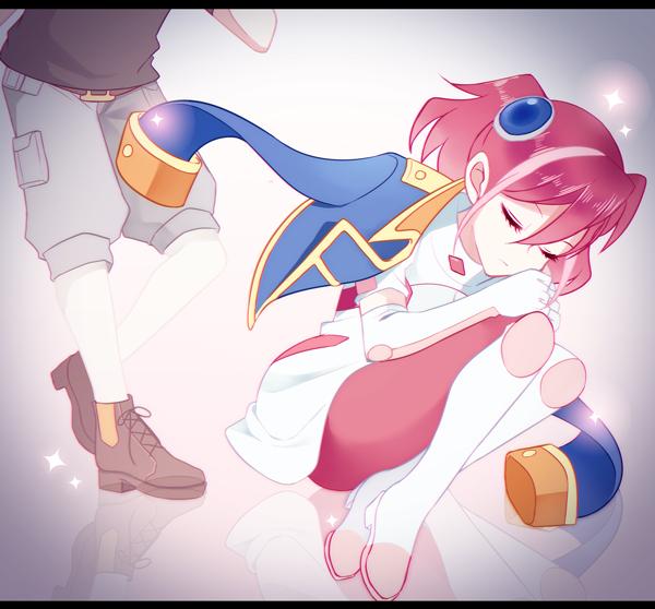 Tags: Anime, Pixiv Id 118452, Yu-Gi-Oh! ARC-V, Yu-Gi-Oh!, Hiiragi Yuzu, Shiunin Sora, Rin (Yu-Gi-Oh! ARC-V) (Cosplay), PNG Conversion, Pixiv, Fanart, Fanart From Pixiv