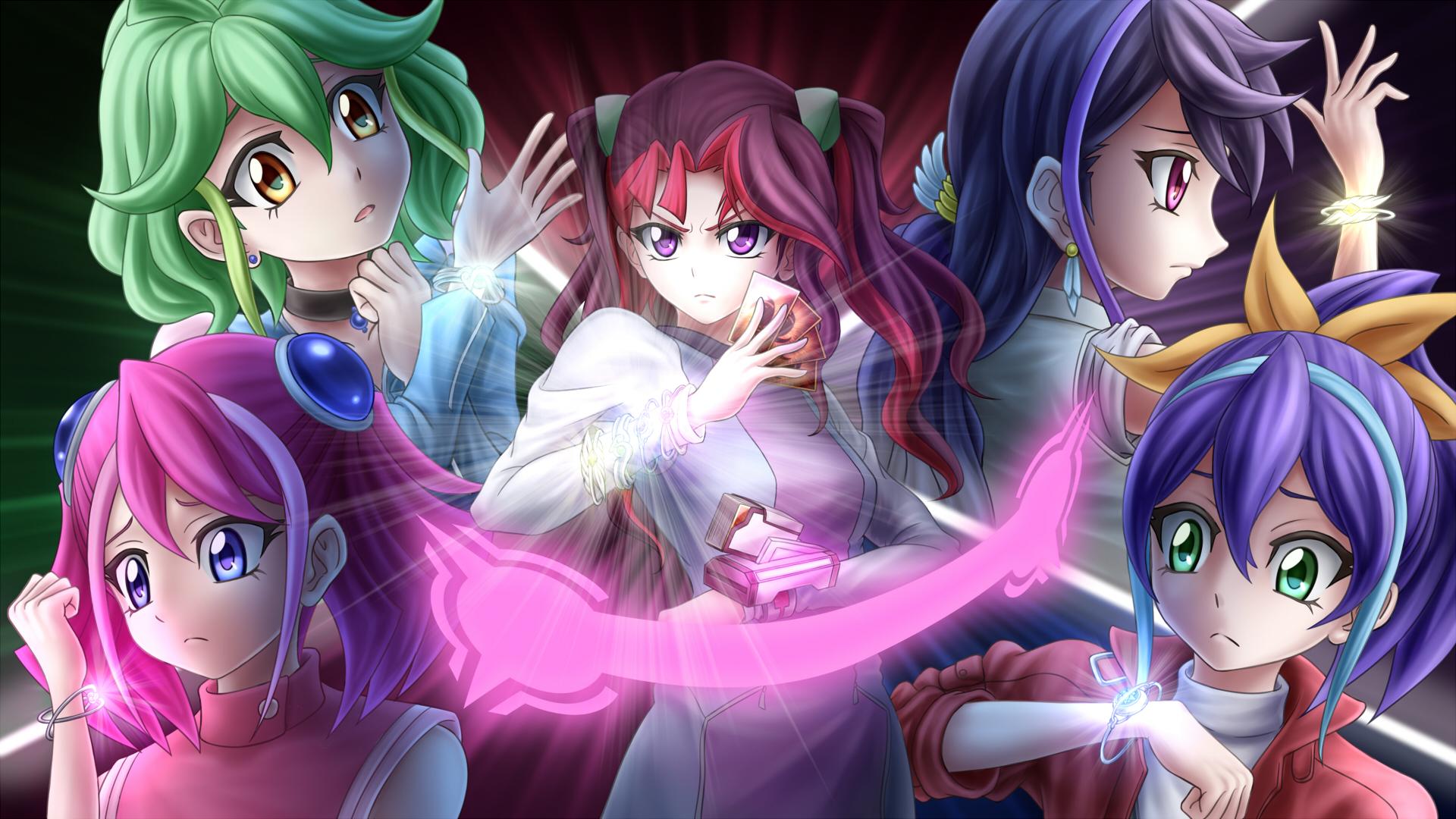 Yu Gi Oh Arc V Hd Wallpaper 2055077 Zerochan Anime Image Board