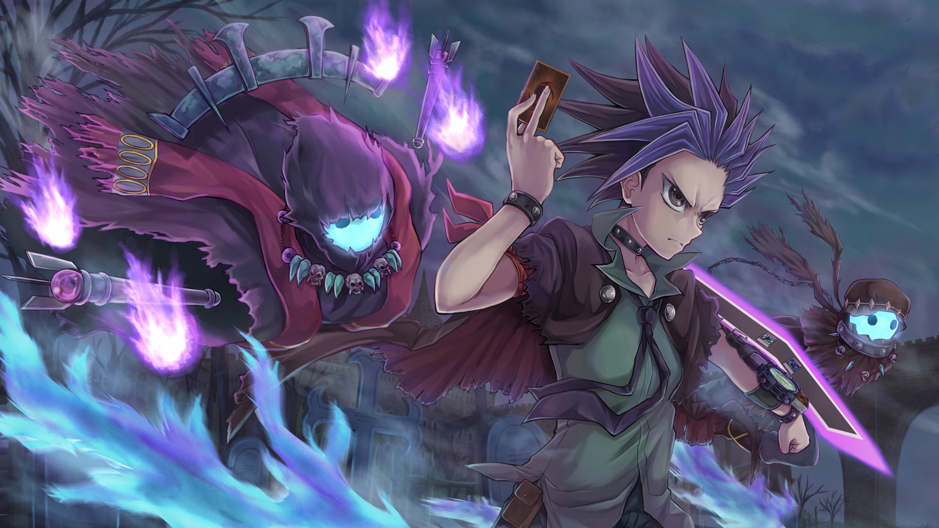 Yu Gi Oh Arc V Hd Wallpaper 2082211 Zerochan Anime Image