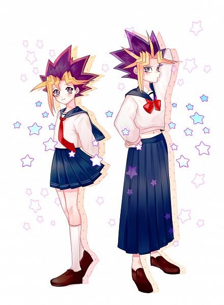 Tags: Anime, Pixiv Id 5073695, Yu-Gi-Oh! Duel Monsters, Yu-Gi-Oh!, Yami Yugi, Mutou Yuugi, Loafers