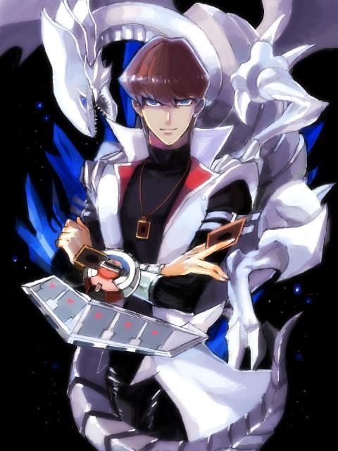 Tags: Anime, Pixiv Id 1105180, Yu-Gi-Oh!, Yu-Gi-Oh! Duel Monsters, Kaiba Seto, Blue-Eyes White Dragon, Fanart, Tegaki, Pixiv, Requested Upload, Mobile Wallpaper, Fanart From Pixiv, PNG Conversion