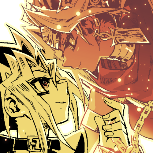 Tags: Anime, Pixiv Id 2075835, Yu-Gi-Oh! Duel Monsters, Yu-Gi-Oh!, Mutou Yuugi, Pharaoh Atem, Yami Yugi, Egyptian Clothes, Ankh (Object), PNG Conversion, Fanart, Pixiv, Fanart From Pixiv