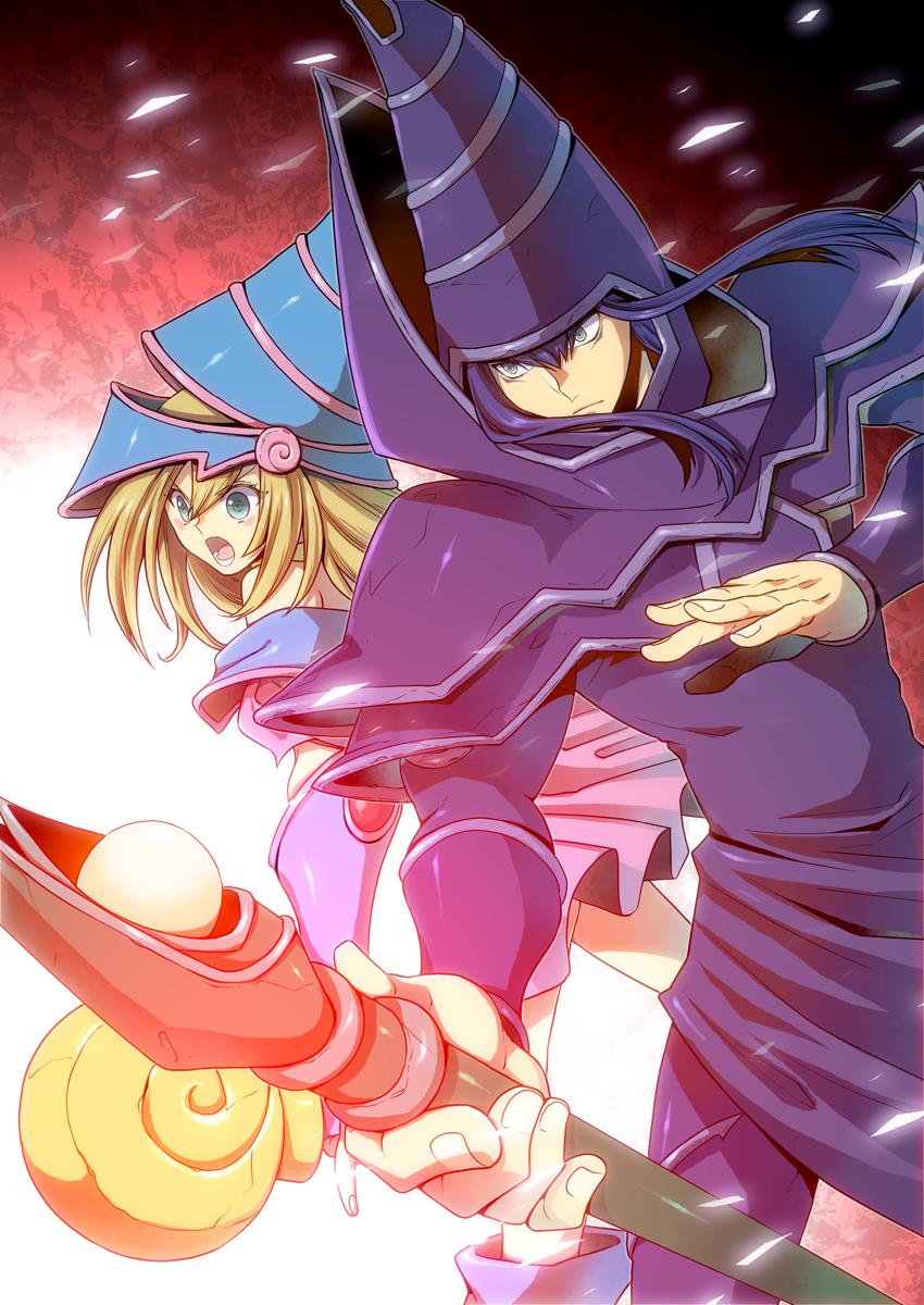 Dark Magician Girl Mobile Wallpaper Zerochan Anime Image Board