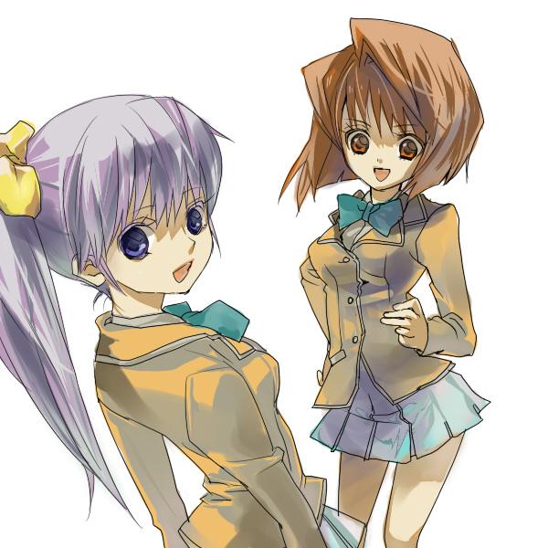 Tags: Anime, gm, Yu-Gi-Oh! Season Zero, Yu-Gi-Oh!, Mazaki Anzu, Nosaka Miho, Pixiv