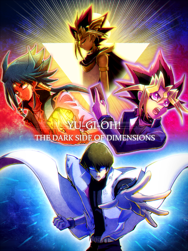 Yu Gi Oh Dark Side Of Dimension Kind Of Games Wall Poster