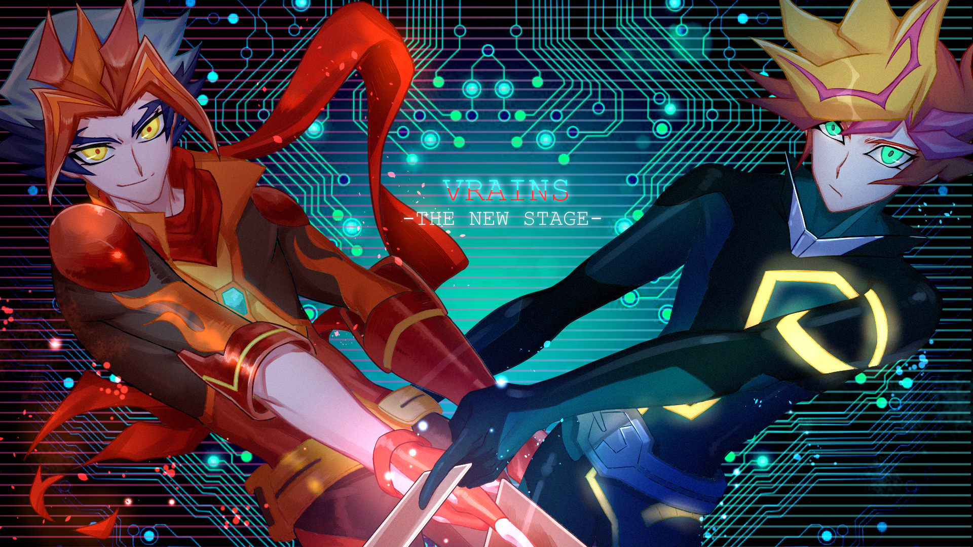 Yu Gi Oh Vrains Wallpaper 2306557 Zerochan Anime Image Board