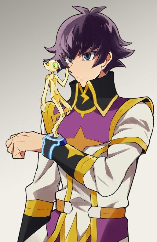 Tags: Anime, Ikegaki, Yu-Gi-Oh! VRAINS, Yu-Gi-Oh!, Lightning (Yu-Gi-Oh! VRAINS), Kusanagi Jin, Ikegkai, Fanart