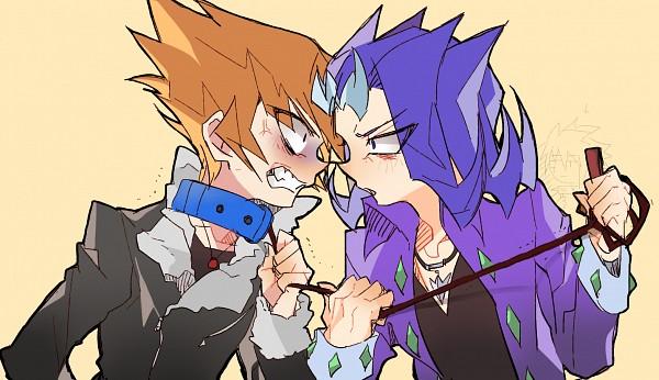 Tags: Anime, Pixiv Id 16379570, Yu-Gi-Oh! ZEXAL, Yu-Gi-Oh!, Vector (Yu-Gi-Oh! ZEXAL), IV (Yu-Gi-Oh! ZEXAL), Kamishiro Ryoga