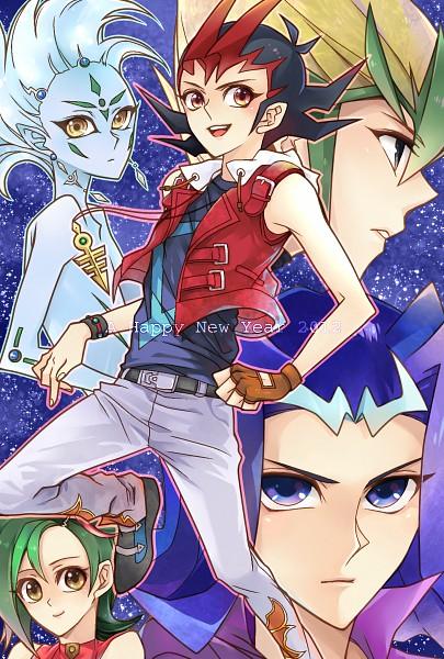 Tags: Anime, Pixiv Id 1120964, Yu-Gi-Oh! ZEXAL, Yu-Gi-Oh!, Astral, Kamishiro Ryoga, Mizuki Kotori