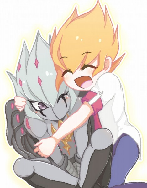 Tags: Anime, Pixiv Id 10532838, Yu-Gi-Oh! ZEXAL, Yu-Gi-Oh!, Vector (Yu-Gi-Oh! ZEXAL), Shingetsu Rei, Red Neckwear