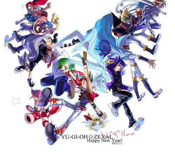 Tags: Anime, Pixiv Id 904540, Yu-Gi-Oh! ZEXAL, Yu-Gi-Oh!, Tsukumo Yuma, Fuya Okudaira, IV (Yu-Gi-Oh! ZEXAL)