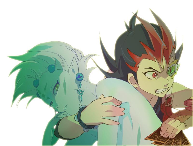 Yuma X Astral L: Yu-Gi-Oh! ZEXAL Image #1605597