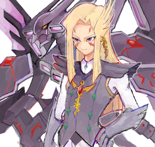 Tags: Anime, Esuto Exe169, Yu-Gi-Oh! ZEXAL, Yu-Gi-Oh!, Mizael, Galaxy-Eyes Tachyon Dragon, Gray Outerwear