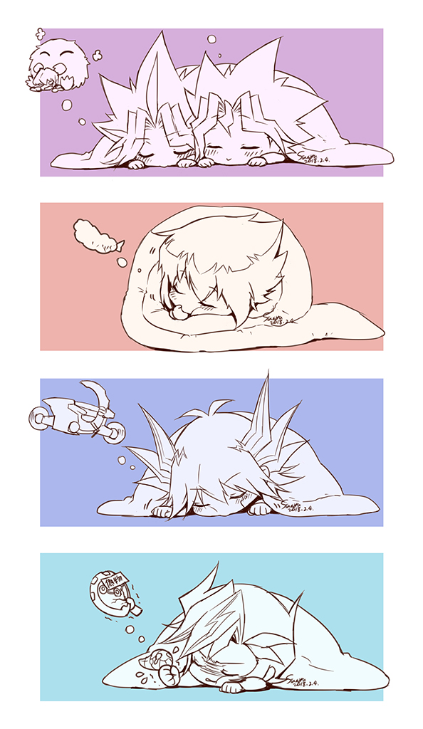 Tags: Anime, Siaoyu, Yu-Gi-Oh! VRAINS, Yu-Gi-Oh! GX, Yu-Gi-Oh!, Yu-Gi-Oh! 5D's, Yu-Gi-Oh! Duel Monsters, Kaiba Seto, Fujiki Yuusaku, Yami Yugi, Mutou Yuugi, Juudai Yuuki, Kuriboh