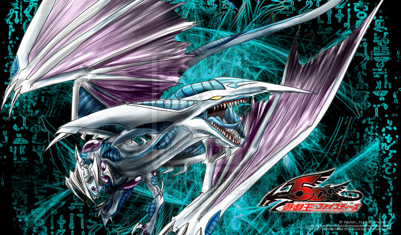 Tags  Anime  Yu-Gi-Oh   Yu-Gi-Oh 5Ds  Stardust Dragon  Claws  Unusual    Yugioh 5ds Dragon Wallpaper