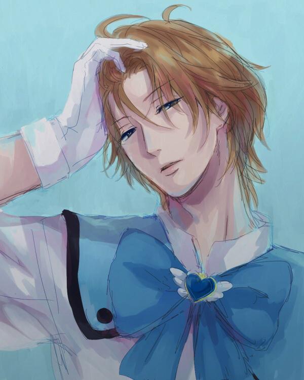 Tags: Anime, Binan Koukou Chikyuu Bouei-bu Love!, Yufuin En, Magical Boy, Artist Request, Sketch