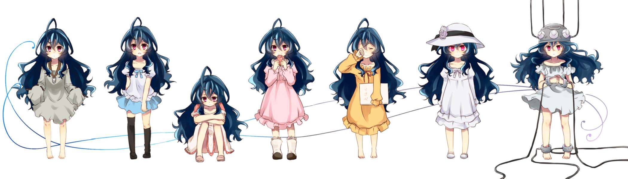 zerochan   The Unlimited  Hyoubu Kyousuke   Yugiri   1468651Zettai Karen Children The Unlimited Yugiri