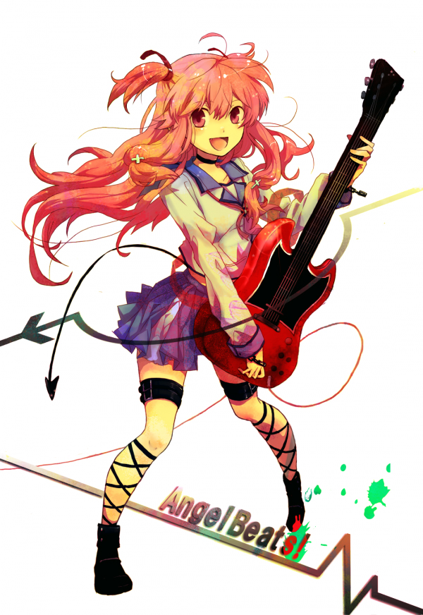 Tags: Anime, Toraman, Angel Beats!, Yui (Angel Beats!), Heartbeat, Mobile Wallpaper