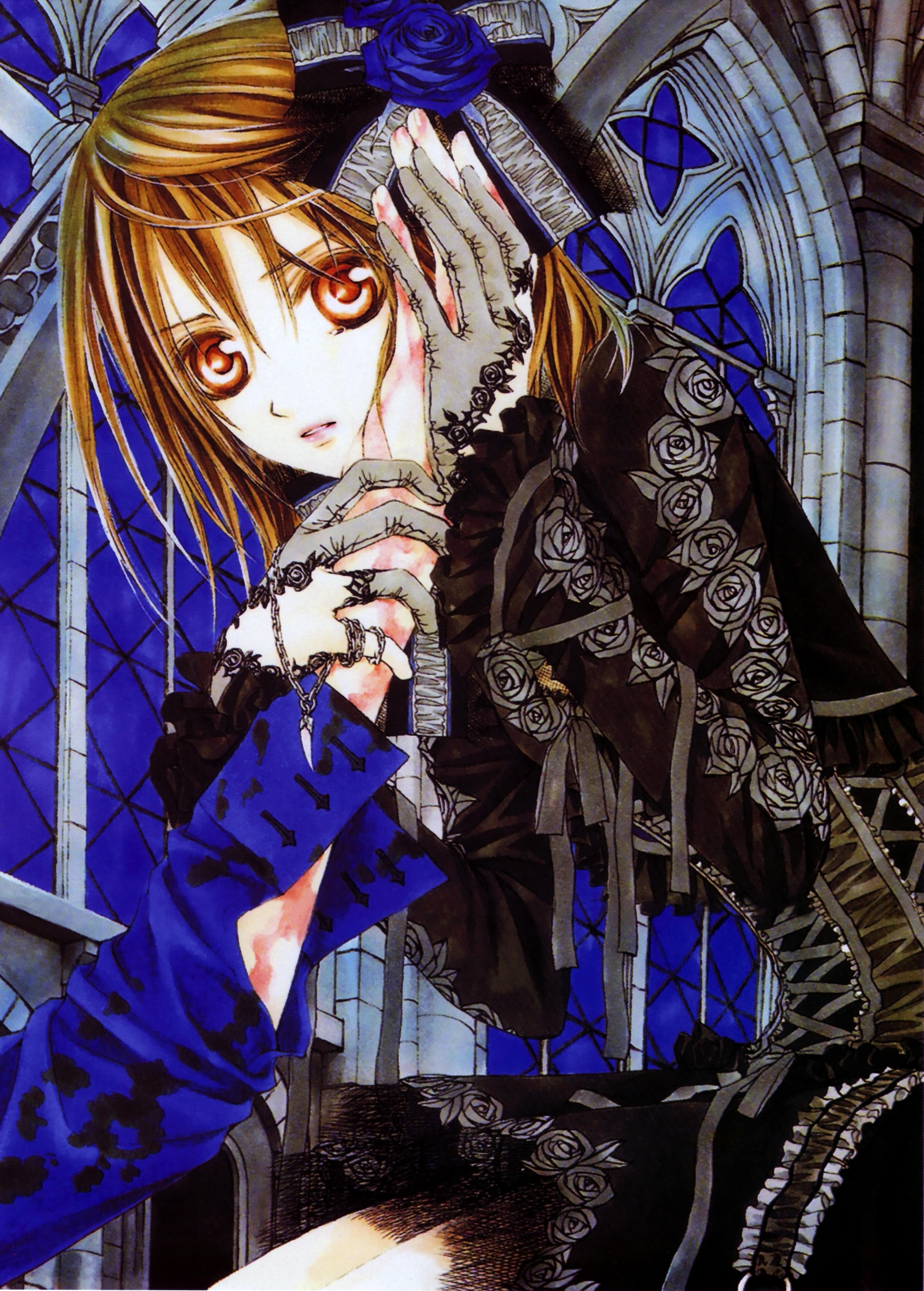 Black dress vampire zero